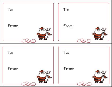 printable name tags from santa last minute gift ideas printable cd covers squawkfox