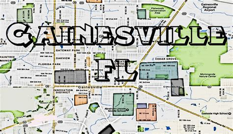 map of gainesville fl map gainesville fl therealstreetz