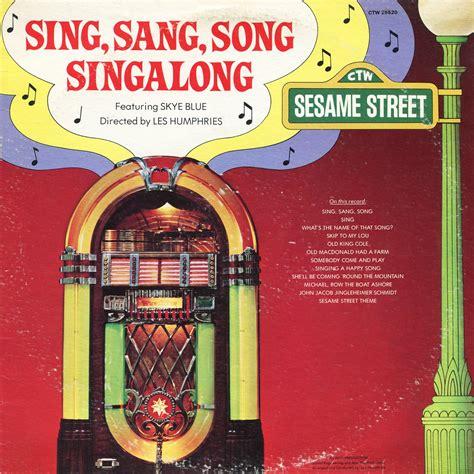 Paket Dvd Cd Original Sing Along Songs With Dibo sing sang song singalong sesame soundtrack blue lp cd sing along