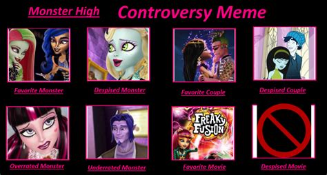 Monster High Memes - monster high controversy meme by isaacel on deviantart