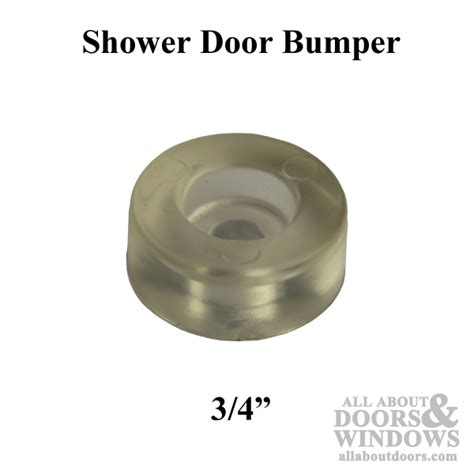 Shower Door Bumpers Shower Door Bumper 3 4 Inch Clear