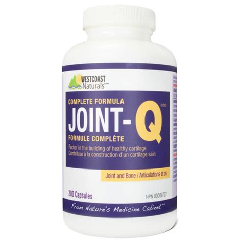 joint q supplement westcoast joint q supplement 200 capsules vitamins