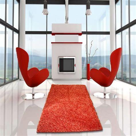 tappeto shaggy rosso tappeto shaggy brezza rosso cm 160x220 bakaji