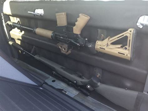 Backseat Gun Rack by Custom Gun Rack For Dcsb Back Seat Page 4 Tacoma World