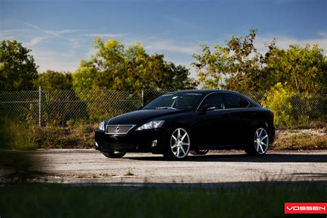 lexus is 250 custom wheels clean lexus is 250 receives vossen wheels autoevolution