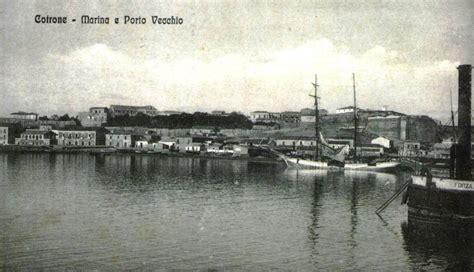 porto di crotone il porto di crotone attraverso una relazione 1870