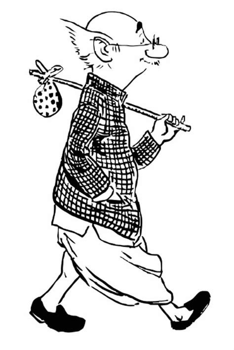 R K Laxman Sketches by 5 Iconic Creations Of Cartoonist Rk Laxman