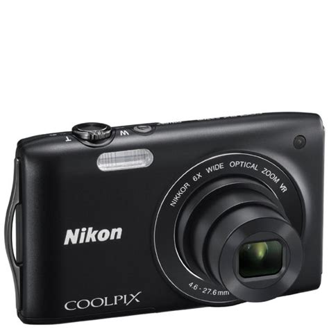 Lensa Nikon Coolpix S3300 nikon coolpix s3300 compact digital 16mp 6x optical 2 7 inch lcd black electronics