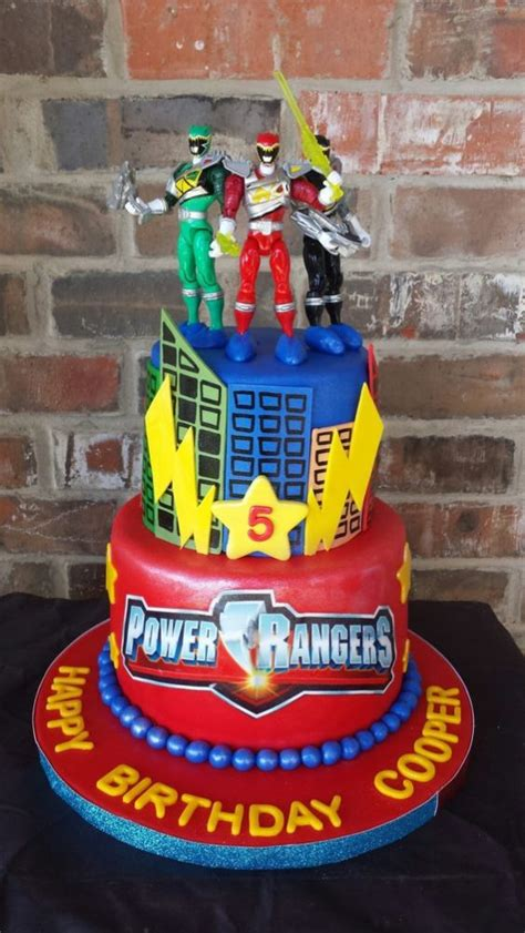 Power Rangers Party  Ee  Ideas Ee   Pretty Party
