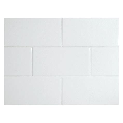 bridgehton ceramic collection subway tile white