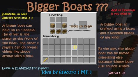 how to make a bigger boat in minecraft bigger boats minedeas contest minecraft blog