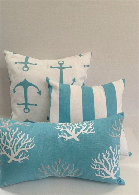 boat themed cushions 25 best ideas about nautical pillows on pinterest
