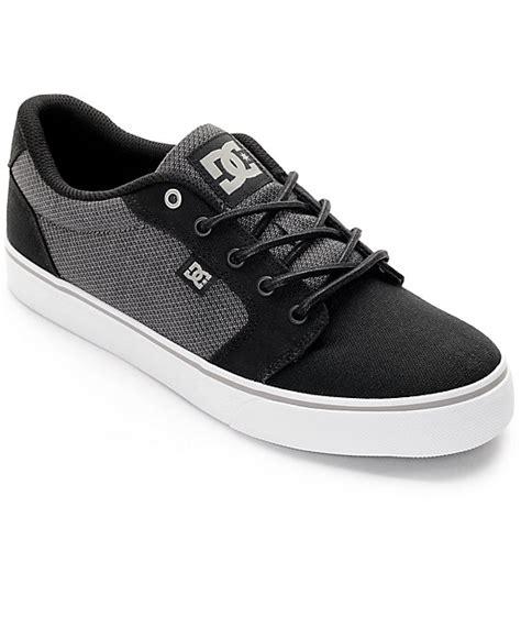 Dc Anvil Black dc anvil tx se black grey shoes