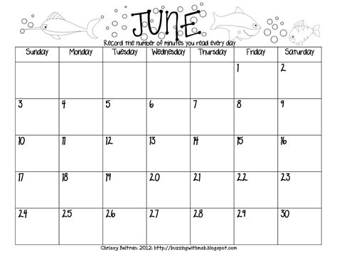 printable calendar reading logs summer reading log freebie calendar style june july