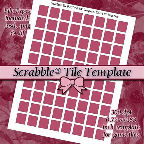 tile tracker scrabble scrabble 174 tile digital collage sheet template tjl resin