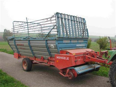 lade anni 60 mengele ladewagen lw 320 quadro in laupheim