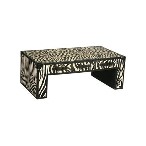 Zebra Print Table L Black And White Zebra Print Coffee Table Forever Furnishings