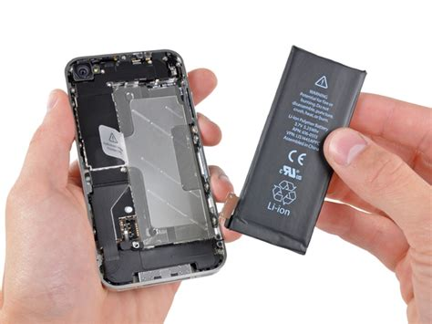 iphone battery replacement program iphone 4 battery replacement ifixit repair guide