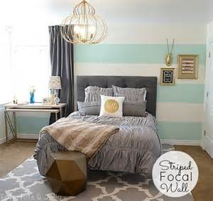 Grey And Gold Curtains Decorating Aqua Grey And Gold Guest Bedroom Reveal