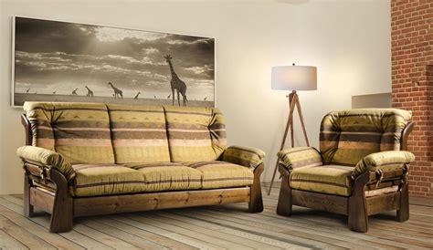 divani in legno divano country in legno massello idfdesign