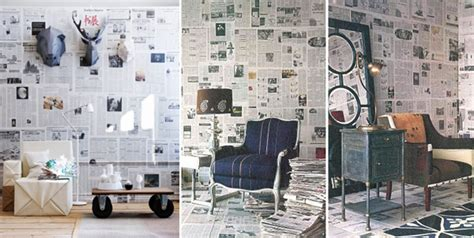 Downstairs Bathroom Ideas wallpaper for your walls made from newspapers my desired