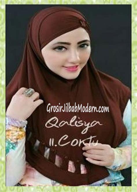 Jilbab Instan Qalisya jilbab syria modis nuha original by qalisya no 11 coktu grosir jilbab modern jilbab cantik