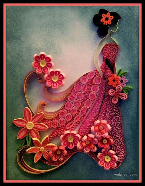 Craft Work For Home Decoration by 25 Beautiful Quilling Flower Designs And Paper Quilling Cards
