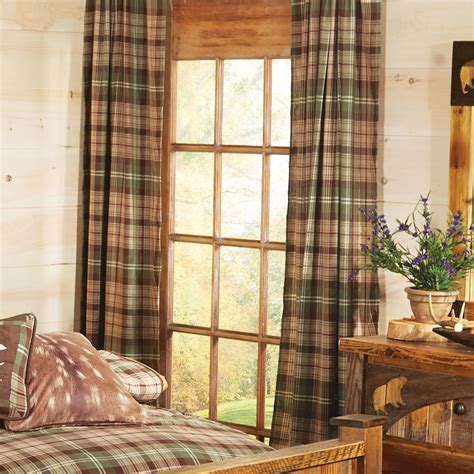 Durango Plaid Curtain