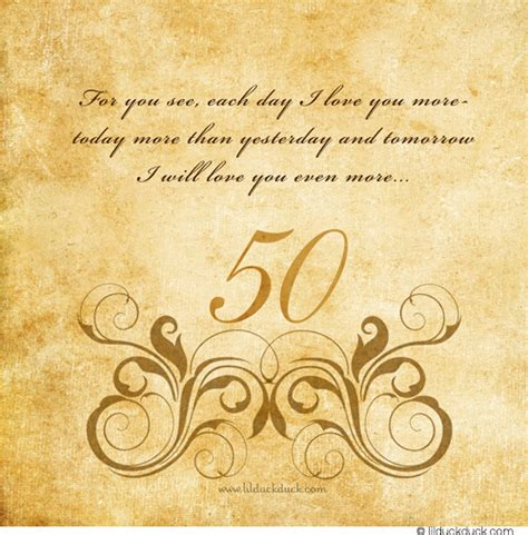 50th wedding anniversary quotes for and 50th happy wedding marriage anniversary quotes