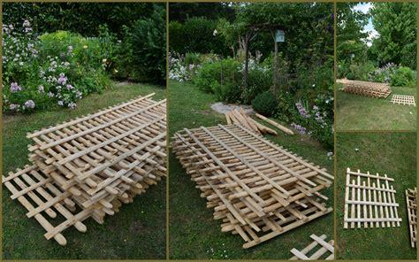 barrieres jardin ma barri 200 re est arriv 201 e une fee d hiver