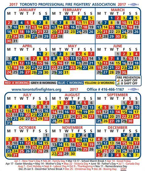 Shift Schedule Calendar Toronto Shift Calendar Greater Toronto