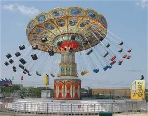 amusement park swing jenkinson s beach boardwalk point pleasant beach nj