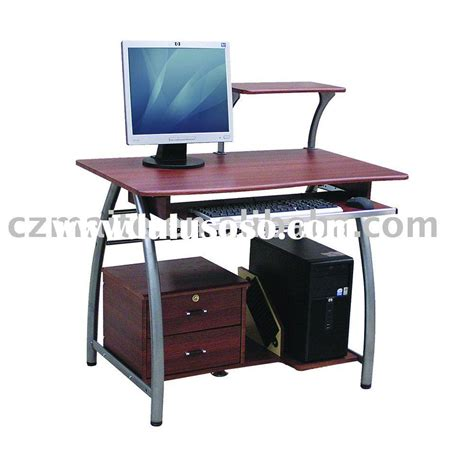 wire computer desk with mdf board for sale price