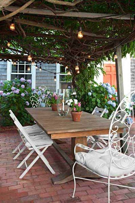 Patio Sting Designs by 26 Breathtaking Yard And Patio String Lighting Ideas Will