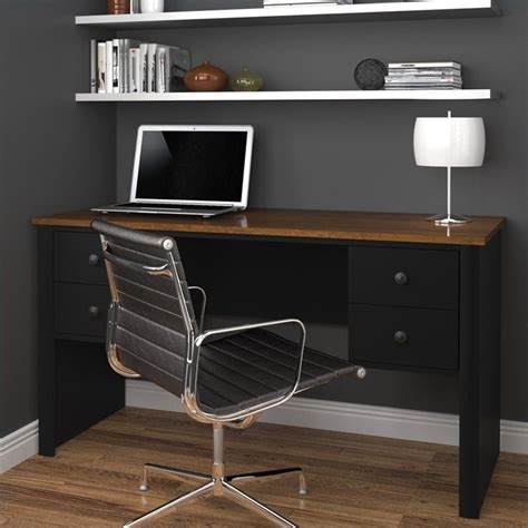 Brown Computer Desk by Features