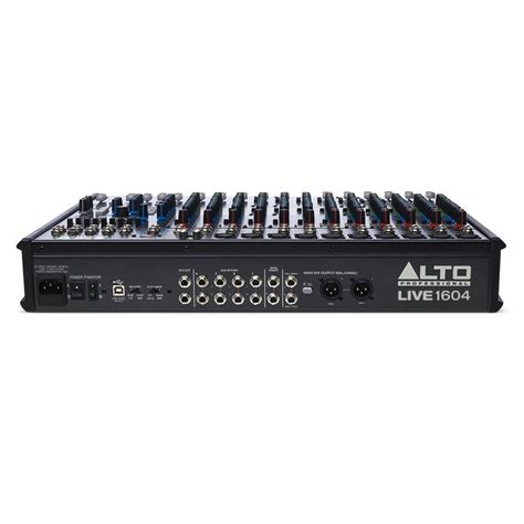 Mixer Alto alto live 1604 16 channel usb mixer with dsp at gear4music