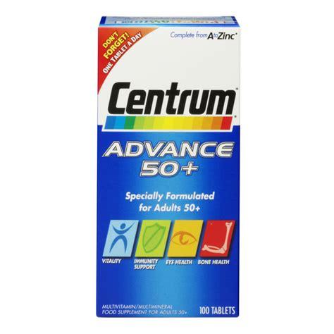 Multivitamin Plus buy centrum advance 50 plus 100 tablets myvitamins uk