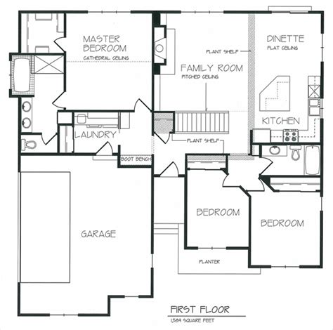 new open floor plans kitchen drawings best layout room