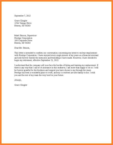 Resignation Letter Letterhead 5 Letters Of Resignation Due To Retirement Resign Letter