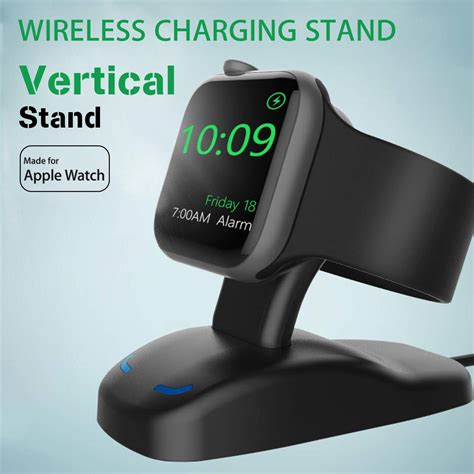 universal for apple 1 2 3 wireless charger dock station usb magnetic charging stand holder
