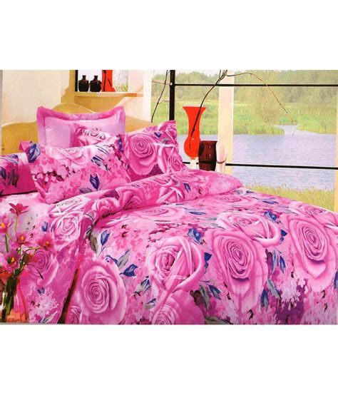 stylish bed linen ellis melody stylish bed sheets with 2 pillow cover buy