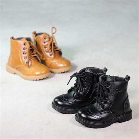 comfortable winter boots for walking real leather children snow boots kid shoes girls boots