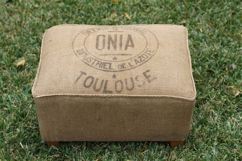 grain sack ottoman 17 best images about ottomans on pinterest vintage