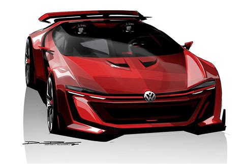 volkswagen supercar vw reveals gti vision grand turismo quot supercar quot for the