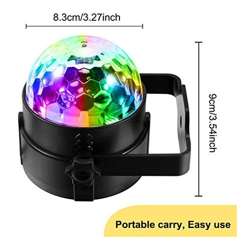 music activated disco lights sound activated party lights with remote control dj