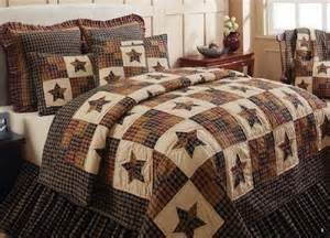 5 pc cambridge quilt set primitive country