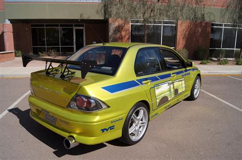 mitsubishi evo 7 custom 2001 mitsubishi evo custom 4 door 2 fast 2 furious 161427