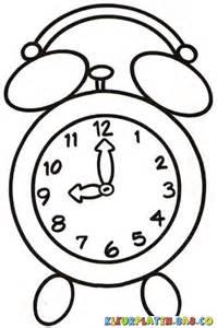 kleurplaten alarm clock kleurplaten voor kids analoge klok tekening van klokken kleuren en