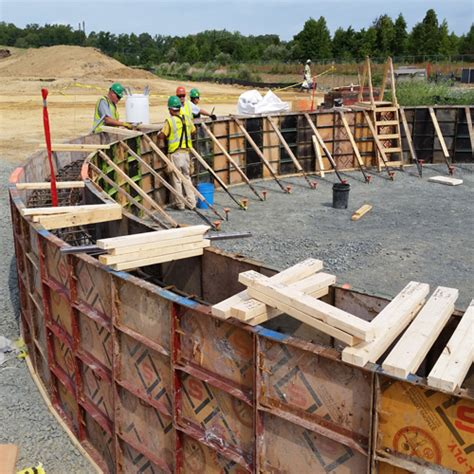 Beton In Form by Forming Concrete Foundation Walls