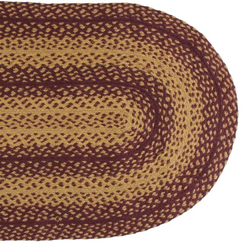 ihf braided rugs ihf home decor 6 x 9 oval braided rug vintage design jute floor carpet ebay